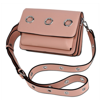 AG00714 - Pink Flap Cross Body Bag