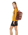 AG00676 - Brown Unisex Backpack School Bag