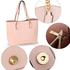 AG00664 - Pink Women Fashion Tote Bag