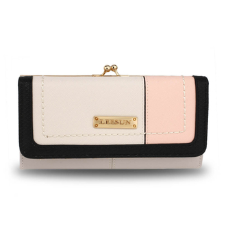 AGP1071A - Nude Patchwork Purse