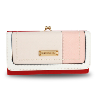 AGP1071A - Red Patchwork Purse