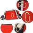 AG00726 - Red / White / Navy Cross Body Fashion Shoulder Bag