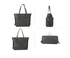 AG00752 - Black Anna Grace Women's Large Tote Bag