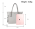 AG00752 - Grey Anna Grace Women's Large Tote Bag