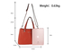 AG00736 - Tan Anna Grace Women's Fashion Handbag