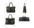 AG00734 - Black Anna Grace Women's Zipper Fashion Handbag