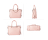 AG00734 - Pink Anna Grace Women's Zipper Fashion Handbag