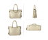 AG00734 - Beige Anna Grace Women's Zipper Fashion Handbag