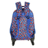 AGT1023  - Multi Navy Backpack Rucksack With Wheels