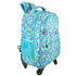 AGT1023  - Multi Blue Rucksack With Wheels