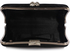 LSE0049 - Wholesale & B2B Gorgeous Black Crystal Strip Clutch Evening Bag Supplier & Manufacturer