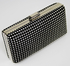 LSE0029 - Black Sparkly Diamante Evening Clutch