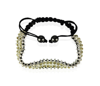 LSB0014-Yellow Crystal Bracelet