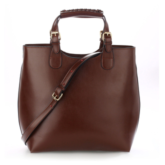 AG00267 - Coffee Ladies Fashion Tote Handbag