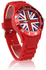 LSW007-Unisex Red Union Jack Watch