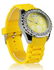 LSW003-Yellow Women's Skull Diamante Watch