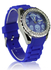 LSW003-Blue Women's Skull Diamante Watch-wholesale watches