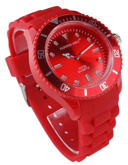 LSW0010-Unisex Red Watch