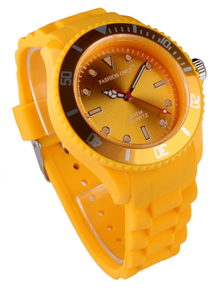 LSW0010-Unisex Yellow Watch