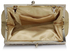 LSE0098 - Nude Crystal Evening Clutch Bag