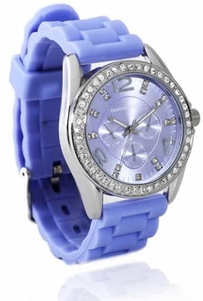 LSW002- Wholesale & B2B Lilac Womens Diamante Watch Supplier & Manufacturer