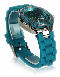 LSW0015- Wholesale & B2B Teal Unisex Diamante Watch Supplier & Manufacturer