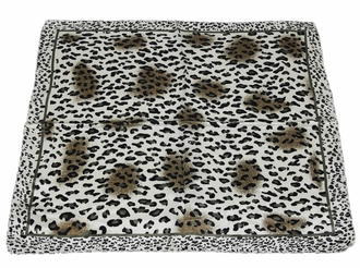 LSSC004 - Brown Animal Print Womens Scarf