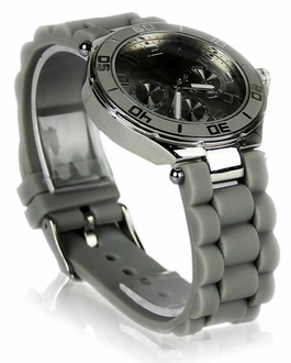 LSW0015- Grey Unisex Diamante Watch