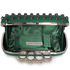 LSE00184 - Wholesale & B2B Green Women's Knuckle Rings Evening Bag Supplier & Manufacturer