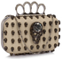 LSE00194- Wholesale & B2B Ivory Women's Knuckle Rings Evening Bag Supplier & Manufacturer