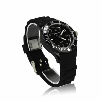 LSW0016- Black Unisex Fashion Watch