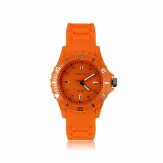 LSW0016- Orange Unisex Fashion Watch