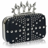 LSE00185- Wholesale & B2B Navy Women's Studded Evening Bag Supplier & Manufacturer