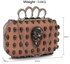 LSE00194- Wholesale & B2B Nude Women's Knuckle Rings Evening Bag Supplier & Manufacturer