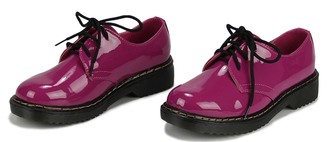 LSS00111 - Fuschia lace Up Shoes