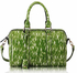 LS7008 - Green Medium Barrel Handbag