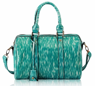 LS7008 - Wholesale & B2B Emerald Medium Barrel Handbag Supplier & Manufacturer