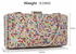 LSE00190- Wholesale & B2B Multi Colour Evening Clutch Supplier & Manufacturer