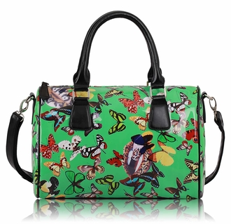 LS7001 - Wholesale & B2B Green Butterfly Satchel Supplier & Manufacturer