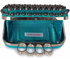 LSE00208 - Wholesale & B2B Teal Skull Clutch bag purse Supplier & Manufacturer