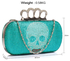 LSE00212 - Wholesale & B2B Emerald Women's Knuckle Rings Evening Bag Supplier & Manufacturer