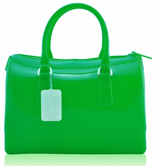 LS0062A- Green Grab Handbag