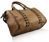 LS0050A -  Nude Stunning  Skull Studded Barrel Bag With Long Strap