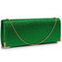 LSE00235 - Green Glitter Clutch Bag