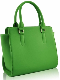 LS0020 - Green Grab Tote Bag