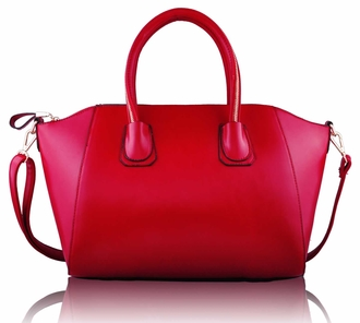 LS0060 - Red Satchel Handbag