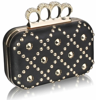 LSE0037- Black Women's  Evening Bag