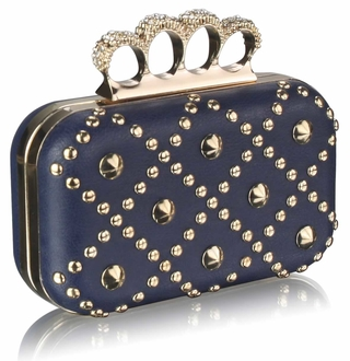 LSE0037- Navy Women's  Evening Bag