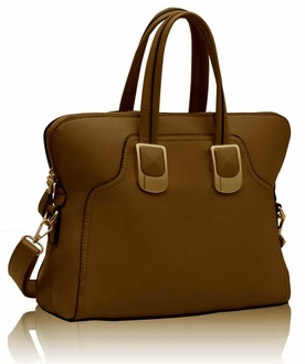 LS00177 - Tan Fashion Tote