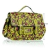 LS00226D - Beige (Yellow) Owl Design Satchel